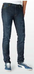 Differente coupe jeans levis homme